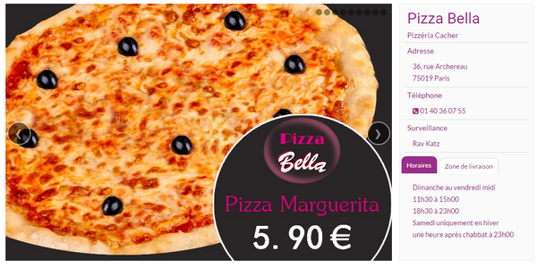Pizza Bella 75019